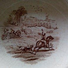 Antigüedades: *PLATO HONDO PICKMAN .SERIE CAZA. (RF:G. /C). Lote 180184228