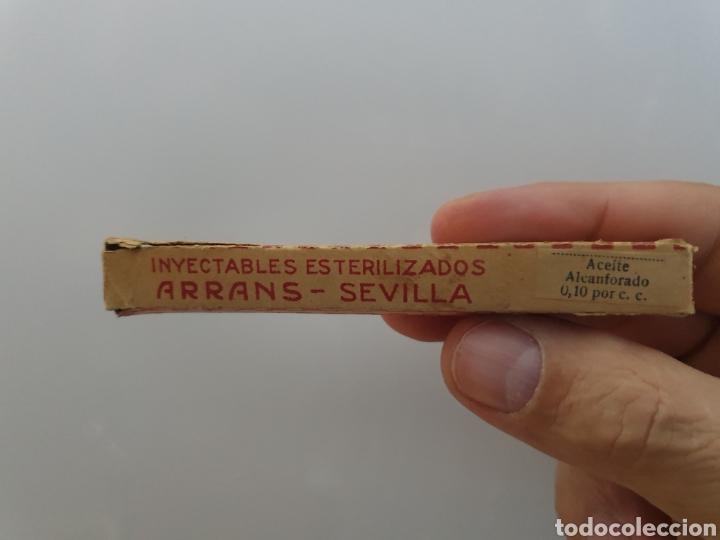 INYECTABLES ESTERILIZADOS ARRANS SEVILLA (Antigüedades - Cristal y Vidrio - Farmacia )