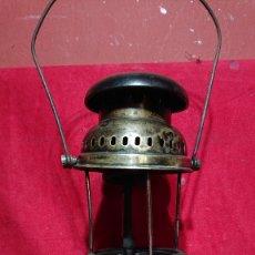 Antigüedades: LAMPARA FAROL DE PRESION MINERO PESCA KLAEBISCH PETROMAX MODELO ESTELAR . Lote 180201715