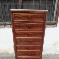 Antigüedades: MUEBLE ESCRITORIO ABATANT SIGLO XIX. Lote 180202636