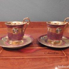 Antigüedades: PRECIOSO JUEGO DE CAFÉ ROYAL CROWN. Lote 180210416