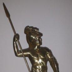 Antigüedades: ESCULTURA O ESTATUA QUE REPRESENTA A ACHILLES, EN BRONCE.. Lote 180211493