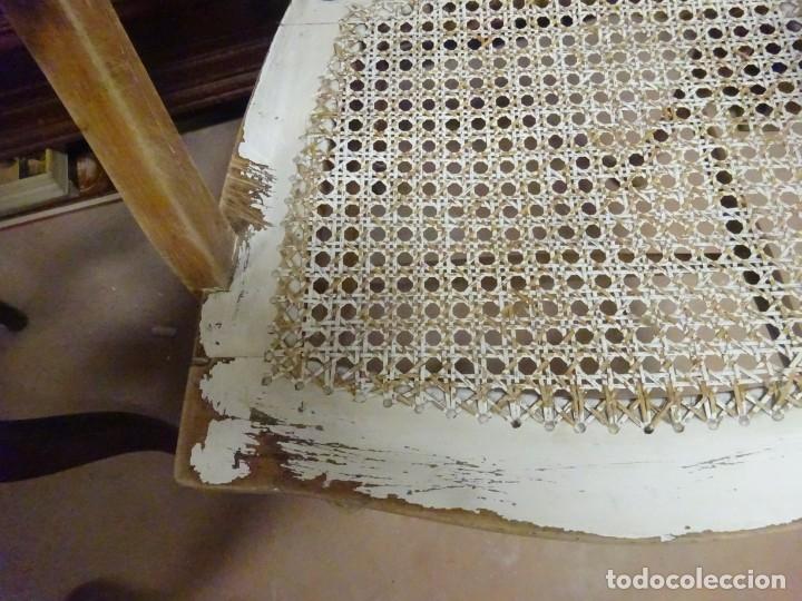 Antigüedades: Silla de madera - Foto 2 - 180224276