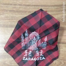 Antigüedades: MFF.- PANUELO DE CABEZA MAÑO. ZARAGOZA.-. Lote 180232830