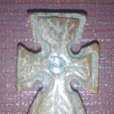 Antigüedades: CRUZ BIZANTINA DE MADERA SIGLOS III-V!!!3,5-2,5 CENTÍMETROS Y 11,44 GRAMOS!!ESPECTACULAR!. Lote 180232970