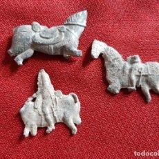 Antigüedades: CABALLOS DE PLOMO. Lote 180236995