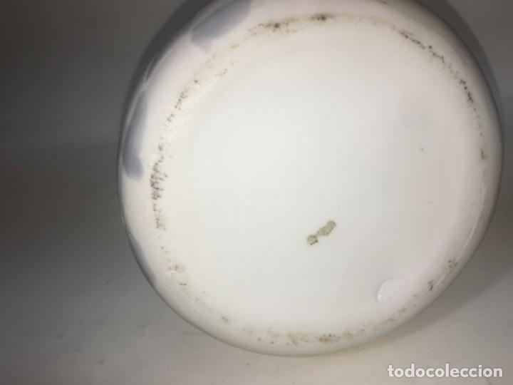 Antigüedades: Jarrón porcelana motivo oriental gueisa Original - Foto 6 - 180239606