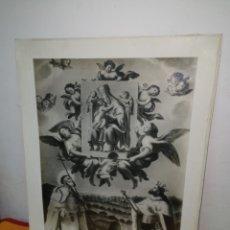 Antigüedades: GRAN FOTO NUESTRA SEÑORA DE LOS ÁNGELES DEL PUIG . Lote 180245020