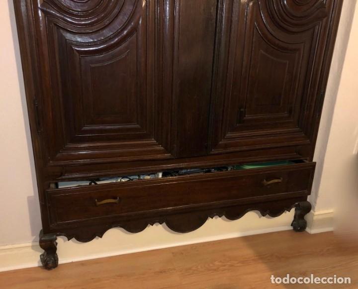 Antigüedades: Antiguas puertas de armario ideal para empotrar - Madera - Foto 4 - 180245238