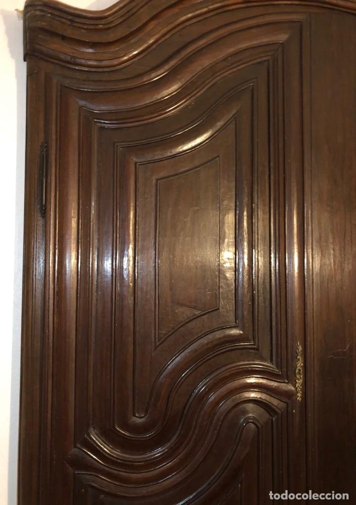 Antigüedades: Antiguas puertas de armario ideal para empotrar - Madera - Foto 5 - 180245238