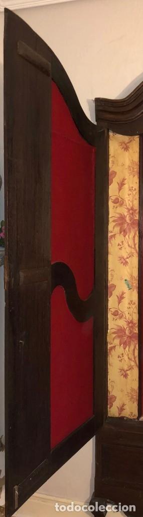 Antigüedades: Antiguas puertas de armario ideal para empotrar - Madera - Foto 7 - 180245238
