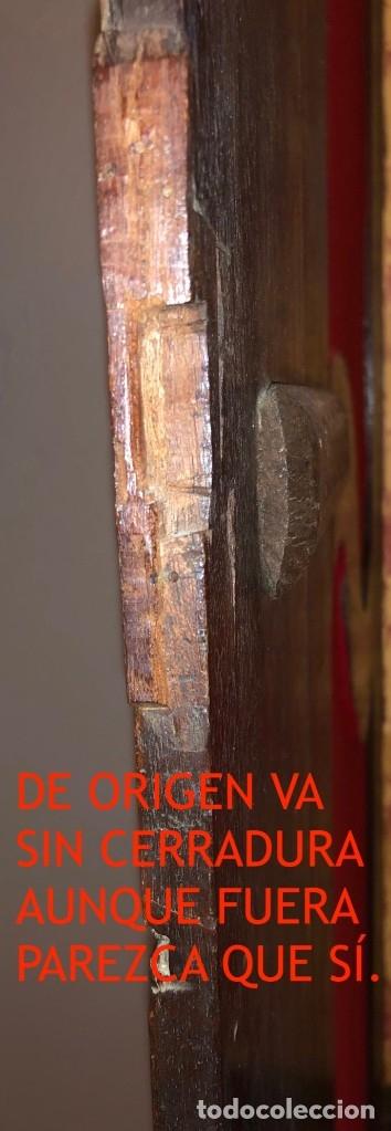 Antigüedades: Antiguas puertas de armario ideal para empotrar - Madera - Foto 8 - 180245238