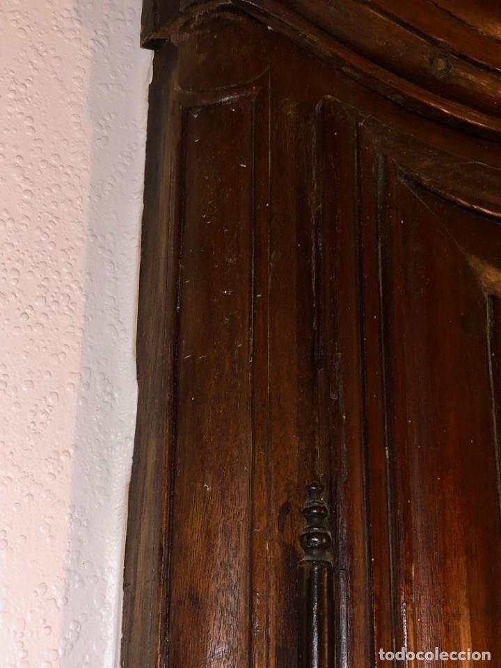 Antigüedades: Antiguas puertas de armario ideal para empotrar - Madera - Foto 9 - 180245238