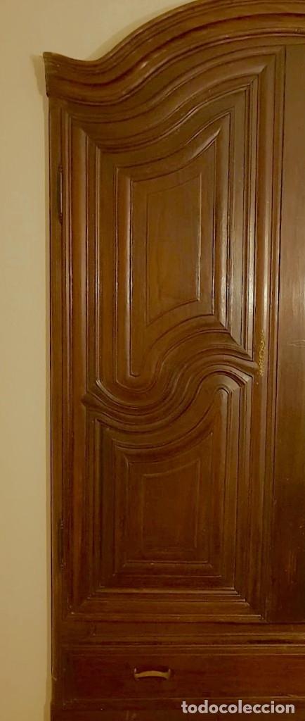 Antigüedades: Antiguas puertas de armario ideal para empotrar - Madera - Foto 14 - 180245238