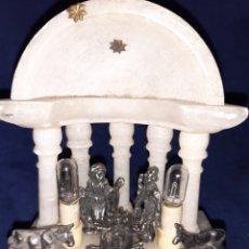 Antigüedades: ANTIGUA CAPILLA DE MÁRMOL Y LATÓN. Lote 180247898