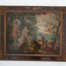 Antigüedades: OLEO SOBRE COBRE SIGLO XVII. Lote 180255081