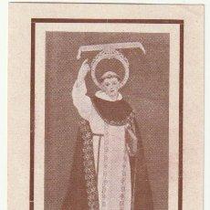 Antigüedades: ESTAMPA RECUERDO BENDICION Y FIESTA DE SAN VICENTE FERRER MELIANA VALENCIA 1941 - -R-7. Lote 180261378