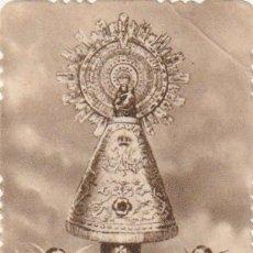 Antigüedades: ESTAMPA RECUERDO FIESTA EN HONOR STMA. VIRGEN DEL PILAR MELIANA VALENCIA 1950 - -R-7. Lote 180262096
