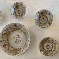 Antigüedades: FUENTE Y 7 TAZONES PORCELANA BAVARIA SYLVIE. Lote 180266335