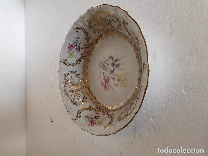 Antigüedades: FUENTE Y 7 TAZONES PORCELANA BAVARIA SYLVIE - Foto 3 - 180266335