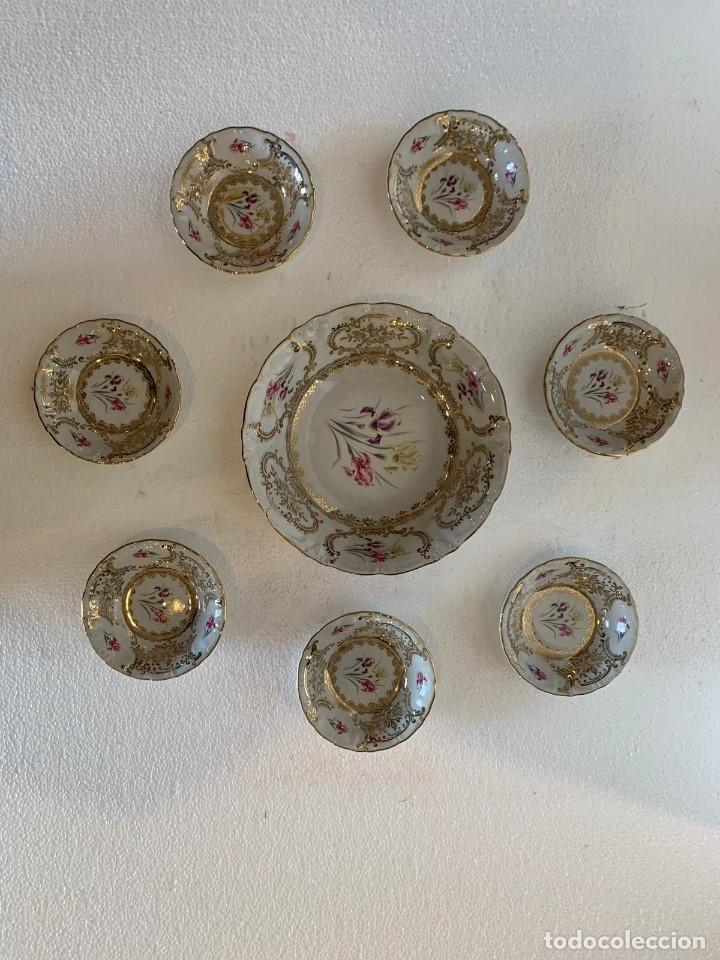 Antigüedades: FUENTE Y 7 TAZONES PORCELANA BAVARIA SYLVIE - Foto 7 - 180266335