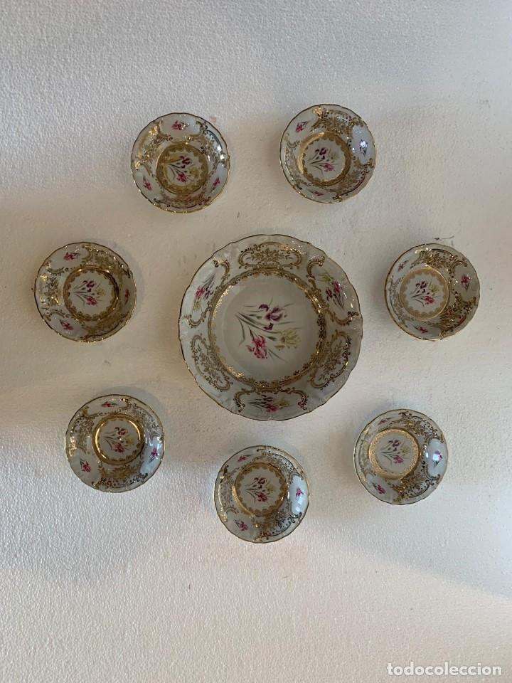 Antigüedades: FUENTE Y 7 TAZONES PORCELANA BAVARIA SYLVIE - Foto 8 - 180266335