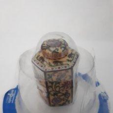 Antigüedades: CAJITA PORCELANA MINIATURA. Lote 180268970