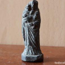 Antigüedades: FIGURA DE PLOMO SAN JOSÉ Y EL NIÑO JESUS- PP SIGLO XX. Lote 180274390