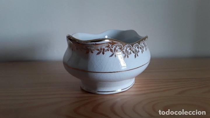 Antigüedades: Salsera cerámica Cartuja Pickman - Foto 3 - 180283393