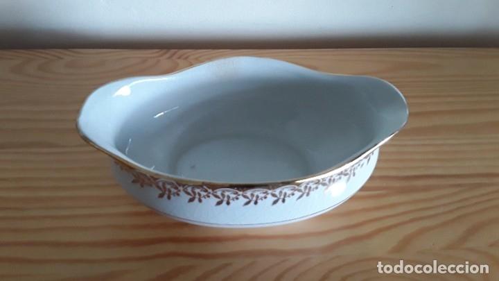 Antigüedades: Salsera cerámica Cartuja Pickman - Foto 5 - 180283393
