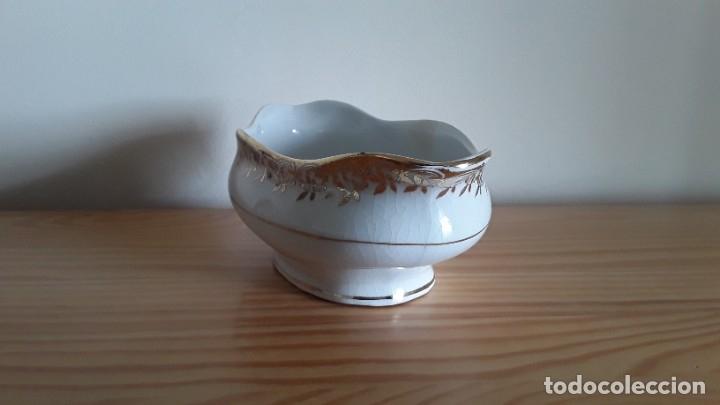 Antigüedades: Salsera cerámica Cartuja Pickman - Foto 7 - 180283393