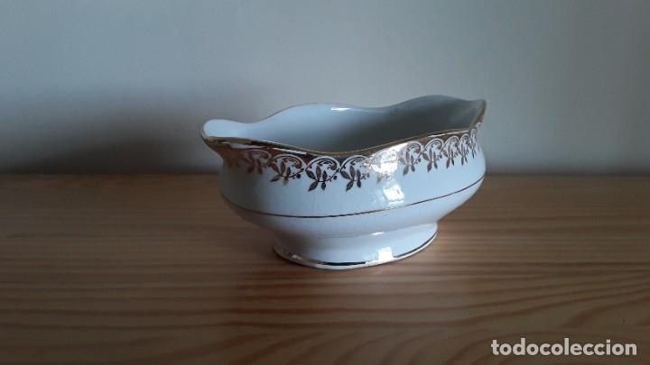 Antigüedades: Salsera cerámica Cartuja Pickman - Foto 8 - 180283393