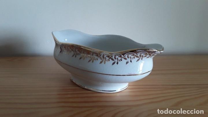 Antigüedades: Salsera cerámica Cartuja Pickman - Foto 9 - 180283393