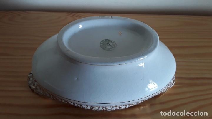 Antigüedades: Salsera cerámica Cartuja Pickman - Foto 10 - 180283393