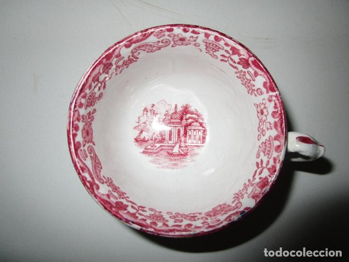 Antigüedades: Juego de Café - 12 Servicios - La Cartuja, Pickman Sevilla - Mod 202 - Foto 4 - 180296447