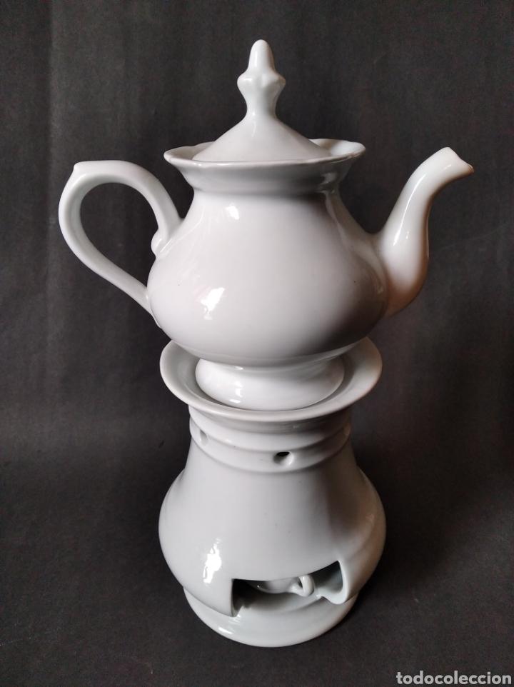 ESCALFERA DE PORCELANA (Antigüedades - Porcelanas y Cerámicas - Otras)