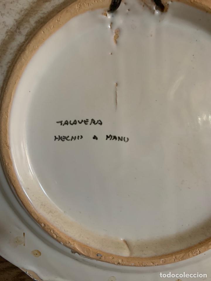 Antigüedades: Plato antiguo Talavera - Foto 5 - 180333696