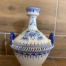Antigüedades: BOTELLA CERÁMICA DE TALAVERA. Lote 180336925