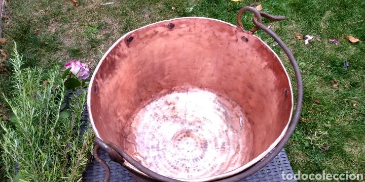 Antigüedades: Antigua caldera de cobre , excelente estado . - Foto 3 - 180347570