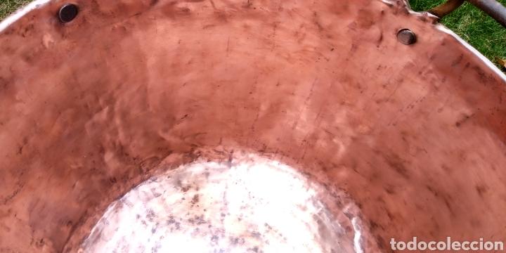 Antigüedades: Antigua caldera de cobre , excelente estado . - Foto 4 - 180347570