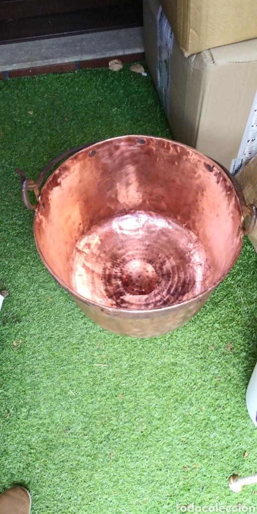 Antigüedades: Antigua caldera de cobre , excelente estado . - Foto 20 - 180347570
