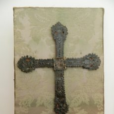 Antigüedades: CRUZ VOTIVA MEDIEVAL, SIGLO XII - XIII. Lote 180349668
