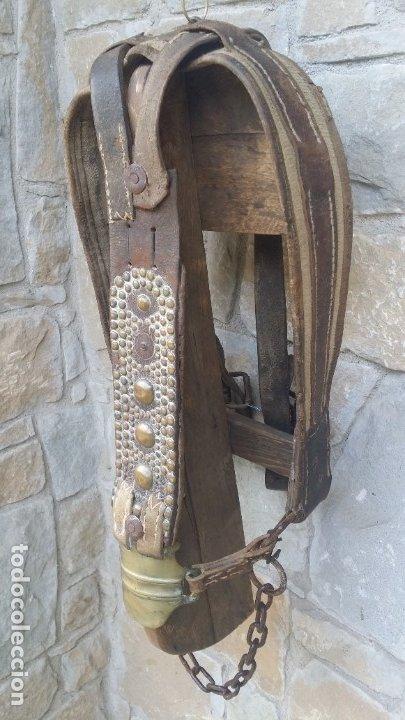 Antigüedades: Cabezal caballo. - Foto 2 - 180387767