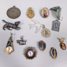 Antigüedades: LOTE DE MEDALLAS E INSIGNIAS. Lote 180417082