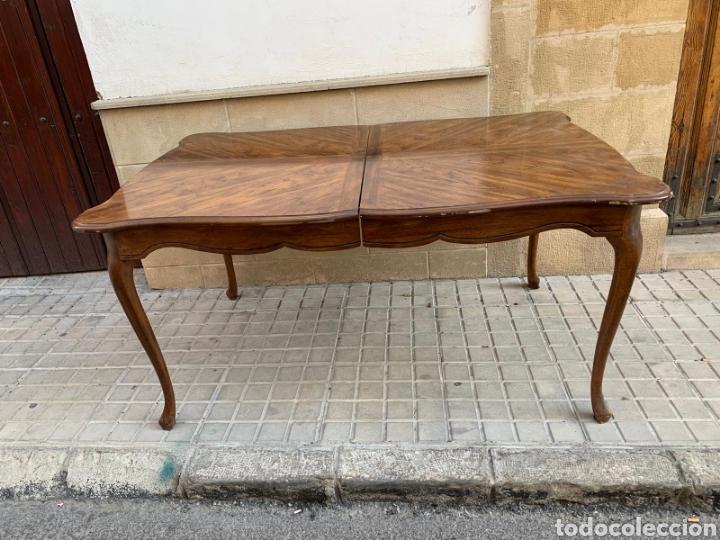 MESA EXTENSIBLE (Antigüedades - Muebles Antiguos - Mesas Antiguas)