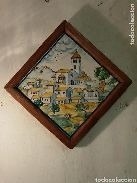 Antigüedades: 2 Azulejos - Foto 4 - 180423402