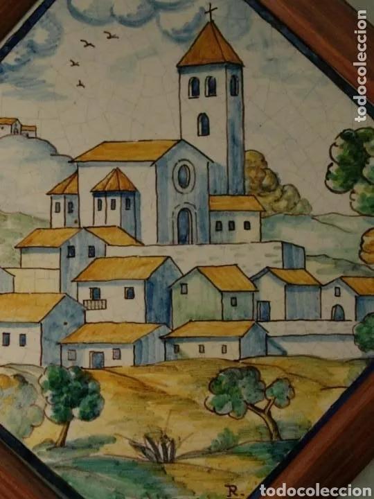Antigüedades: 2 AZULEJOS SIGLO XIX BUEN ESTADO - Foto 5 - 180423402