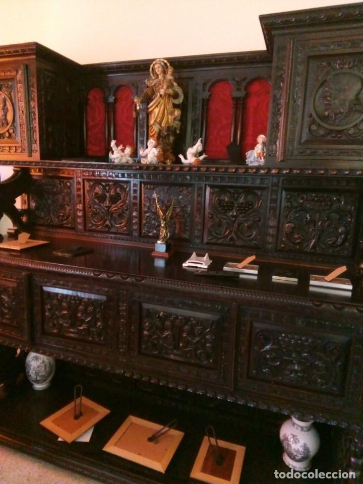 Antigüedades: Salón completo renacimiento español - Foto 2 - 180425703
