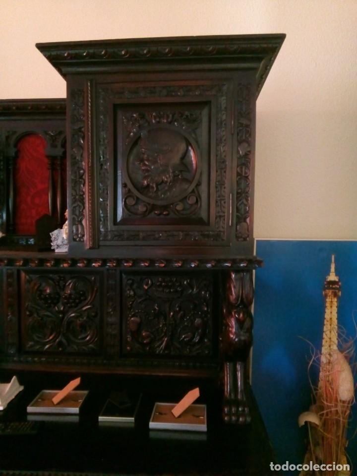 Antigüedades: Salón completo renacimiento español - Foto 7 - 180425703
