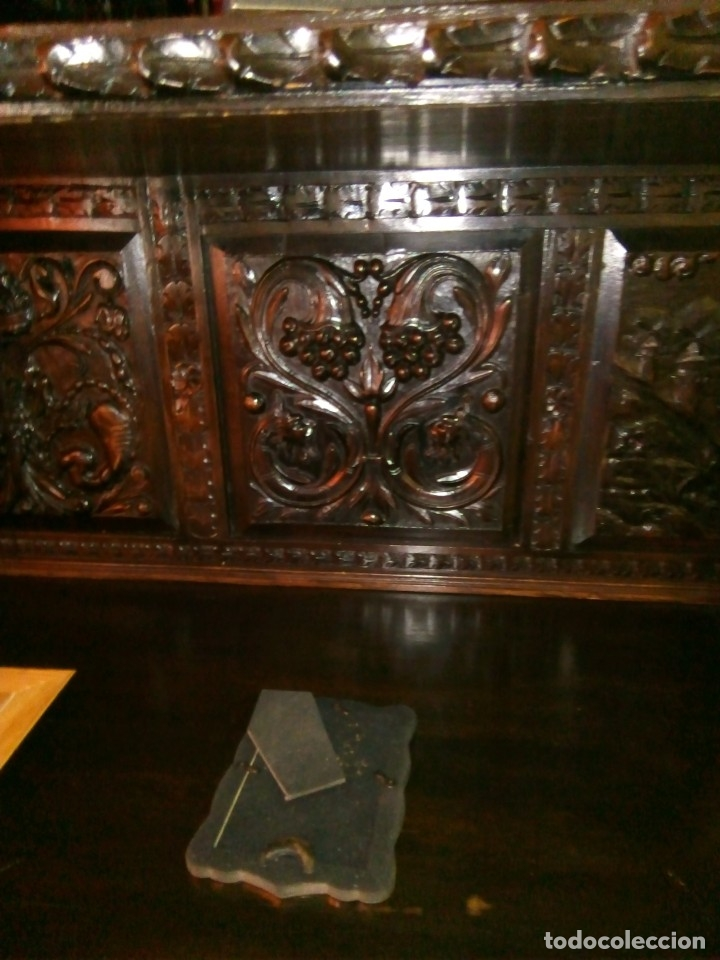 Antigüedades: Salón completo renacimiento español - Foto 8 - 180425703